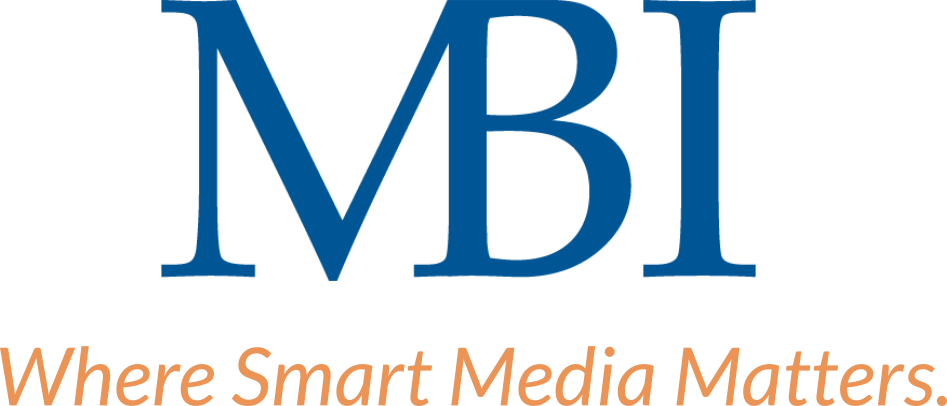 MBI logo with centered tagline